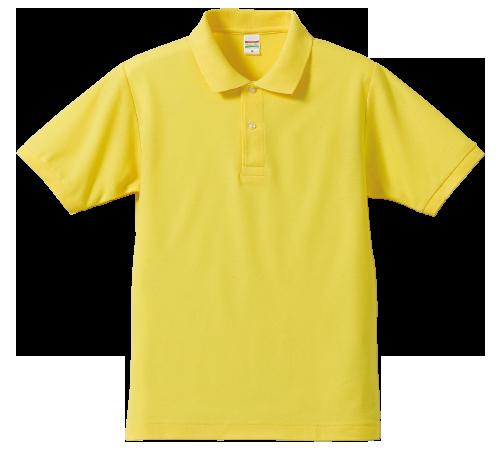 5.3オンスベーシックカノコポロシャツ