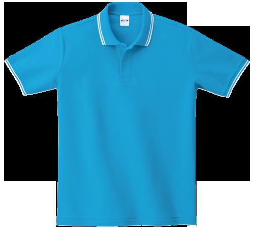 5.8オンスラインカノコポロシャツ